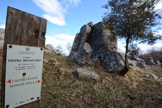 Sul monte Stella nel Cilento c'è il megalite Preta ru Mulacchio