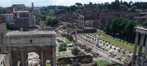 Il foro romano e il Palatino: il 1° gennaio aperti gratuitamente insieme ai fori imperiali