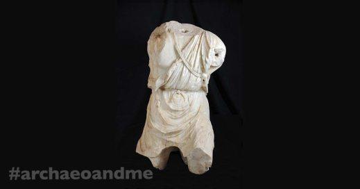 Il torso di Mitra-Gladiatore restituito dal Paul Getty Museum, ora in mostra a Roma