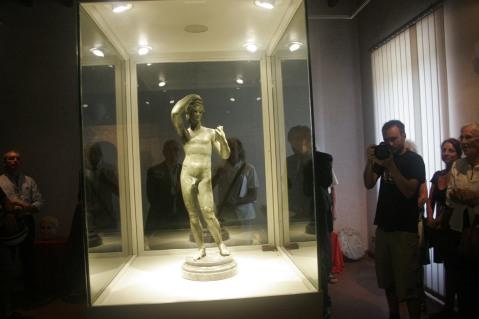 La mostra dell'Efebo del I sec. d.C. a Sutri per ora è biennale