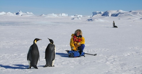 """Gianna Ossena in Antartide, """"un luogo del cuore"""" per la fotografa trentina"""