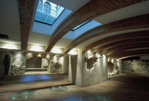 L'area archeologica sotto Palazzo Lodron a Trento: tracce del quartiere romano (Foto Zotta)