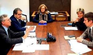 La firma dell'accordo a Torino tra il museo Egizio, il ministero e il Comune di Catania