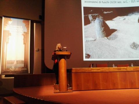 L'archeologa preistorica Raffaella Poggiani Keller a Tourisma 2017