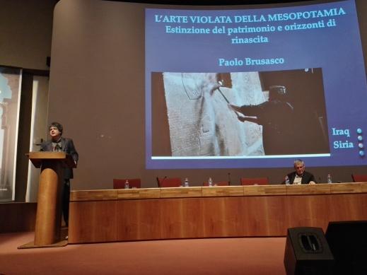Il prof. Paolo Brusasco al palacongressi di Firenze per TourismA 2017
