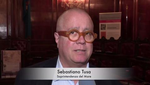 Sebastiano Tusa, responsabile della soprintedenza del Mare