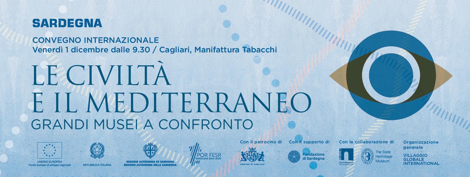 """La locandina del convegno internazionale """"Le civiltà e il Mediterraneo"""" a  Cagliari il 1° dicembre 2017 2d8ad0693396"""