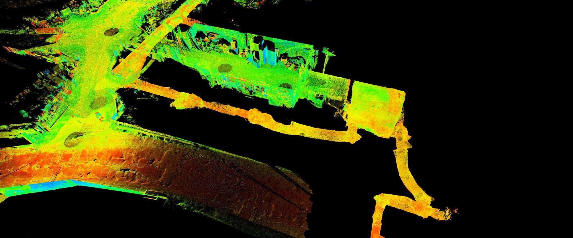 civita-giuliana_Cunicoli-al-laser-scanner