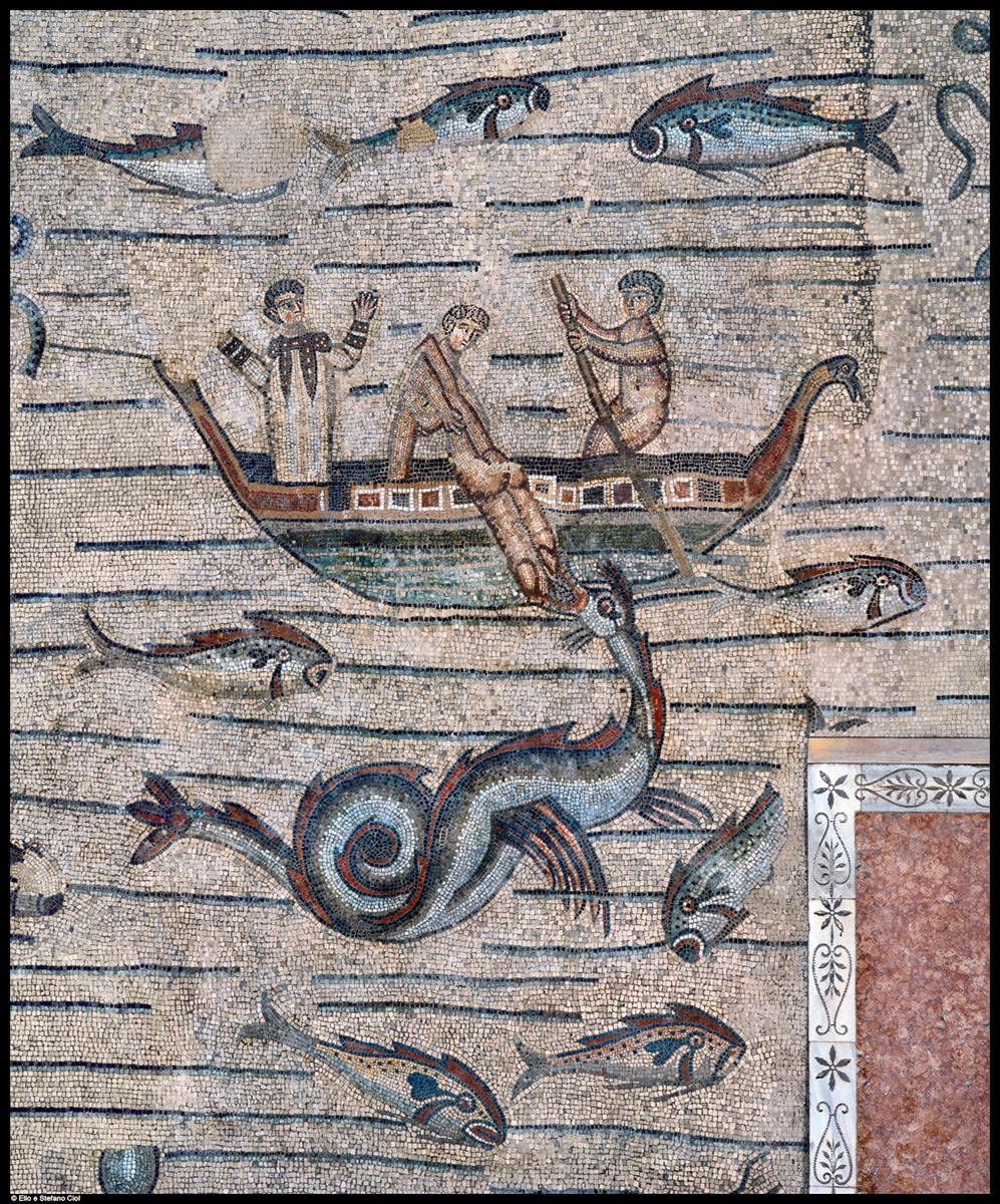 Aquileia: giudeo-cristianesimo, il ciclo di Giona