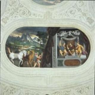 trento_buonconsiglio_Magno-Palazzo_camera-torrione.da-basso_cesare-nel-triunvirato_foto-buoncosiglio