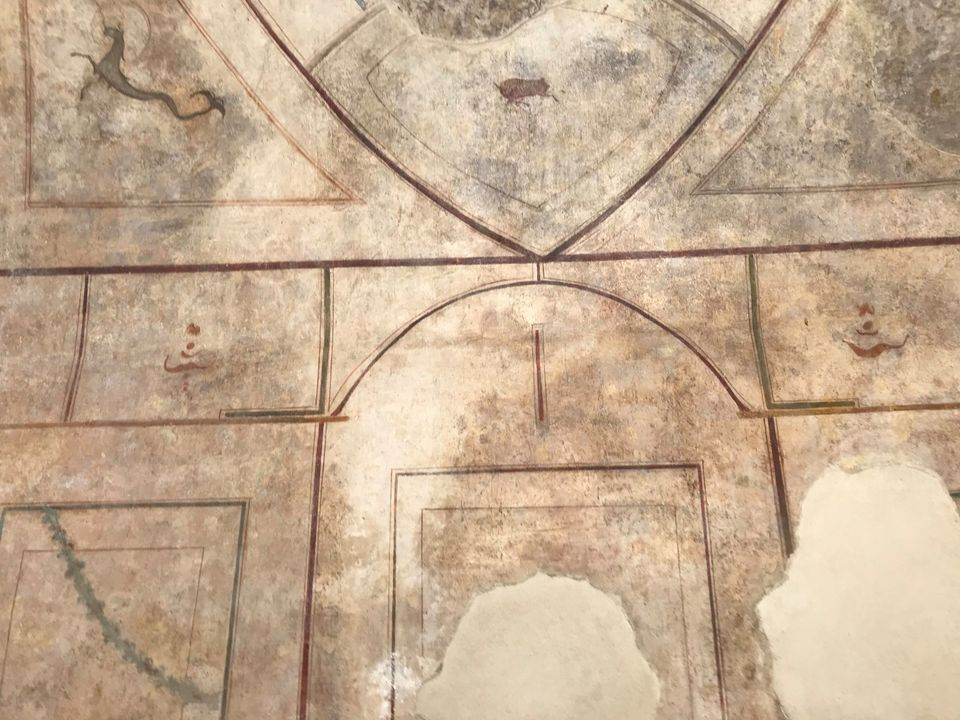 roma_palatino_domus-tardo-antica_decorazioni_1_foto-PArCo