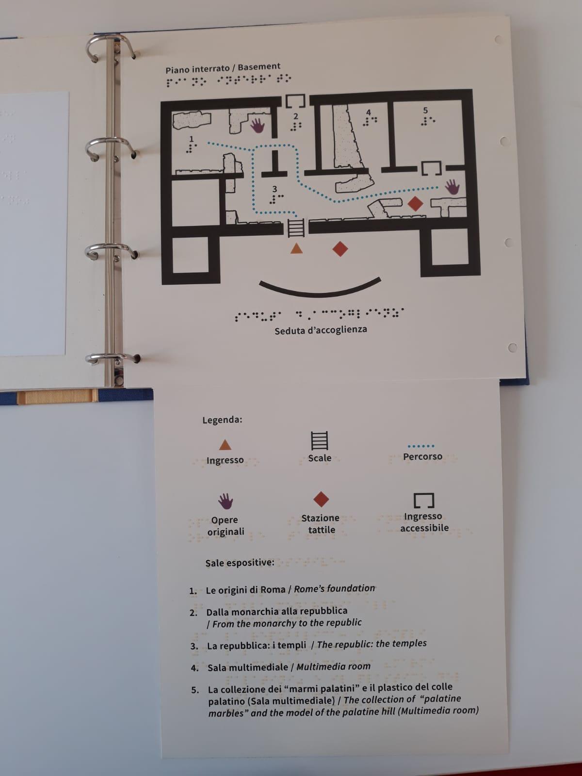 roma_PArCo_La-prima-Guida-Tattile-del-PArCo_Piano-Interrato-del-Museo_foto-PArCo