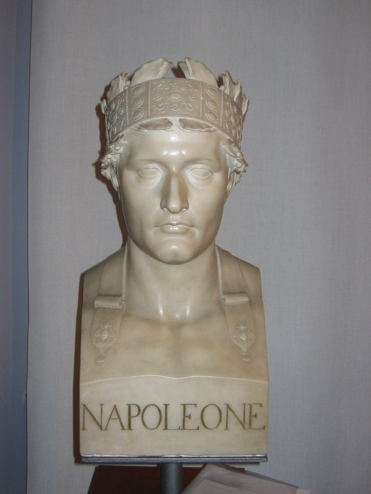 milano_museo-risorgimento_Giovan Battista Comolli, Erma di Napoleone I Re d'Italia_foto-comune-milano