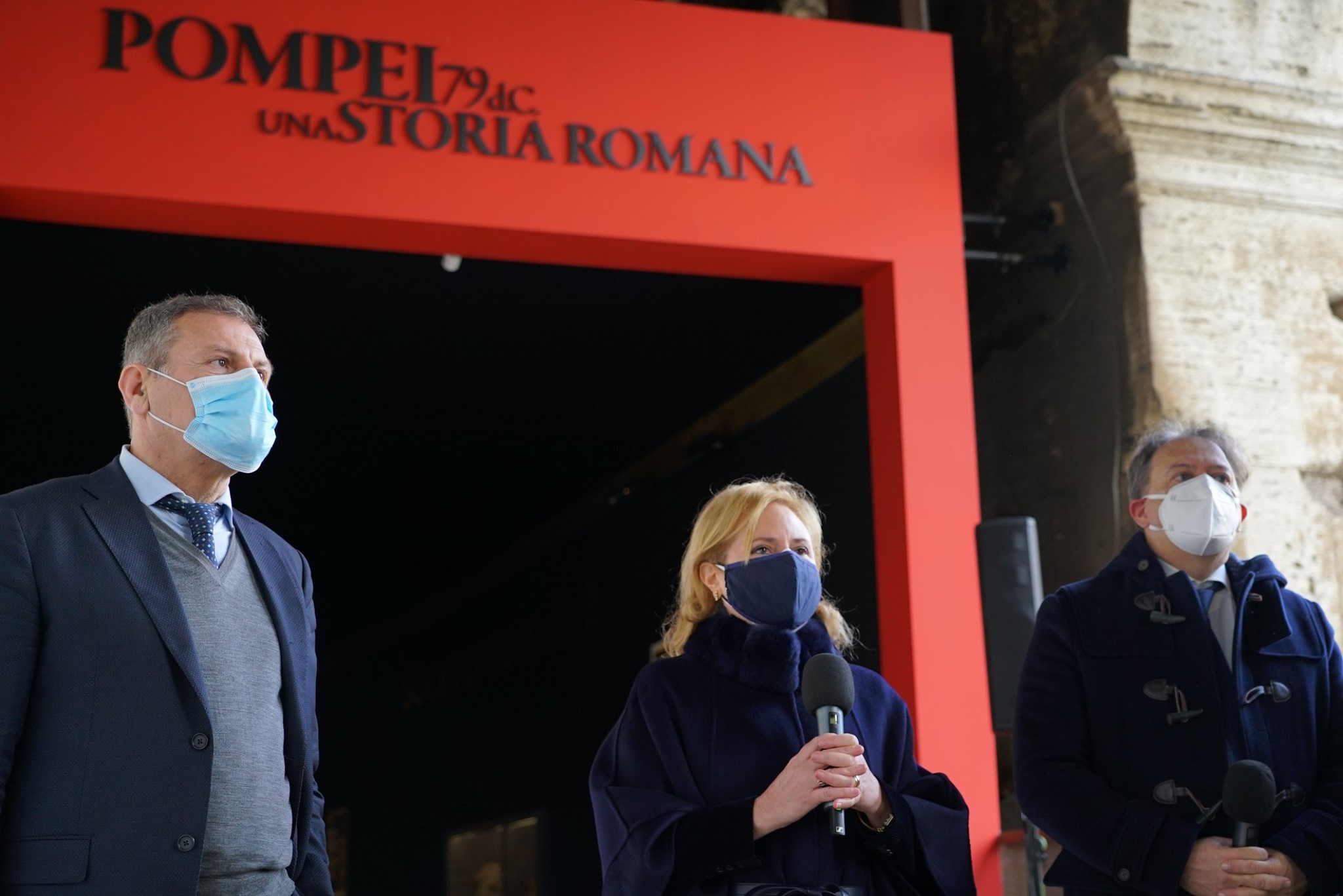 roma_colosseo_mostra-pompei_inaugurazione_osanna-russo-giulierini_foto-PArCo