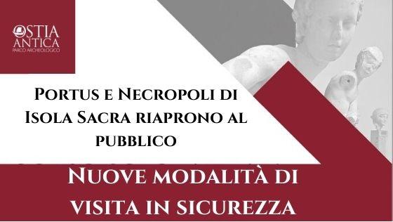 roma_fiumicino_portus-isola-sacra_riapertura_locandina