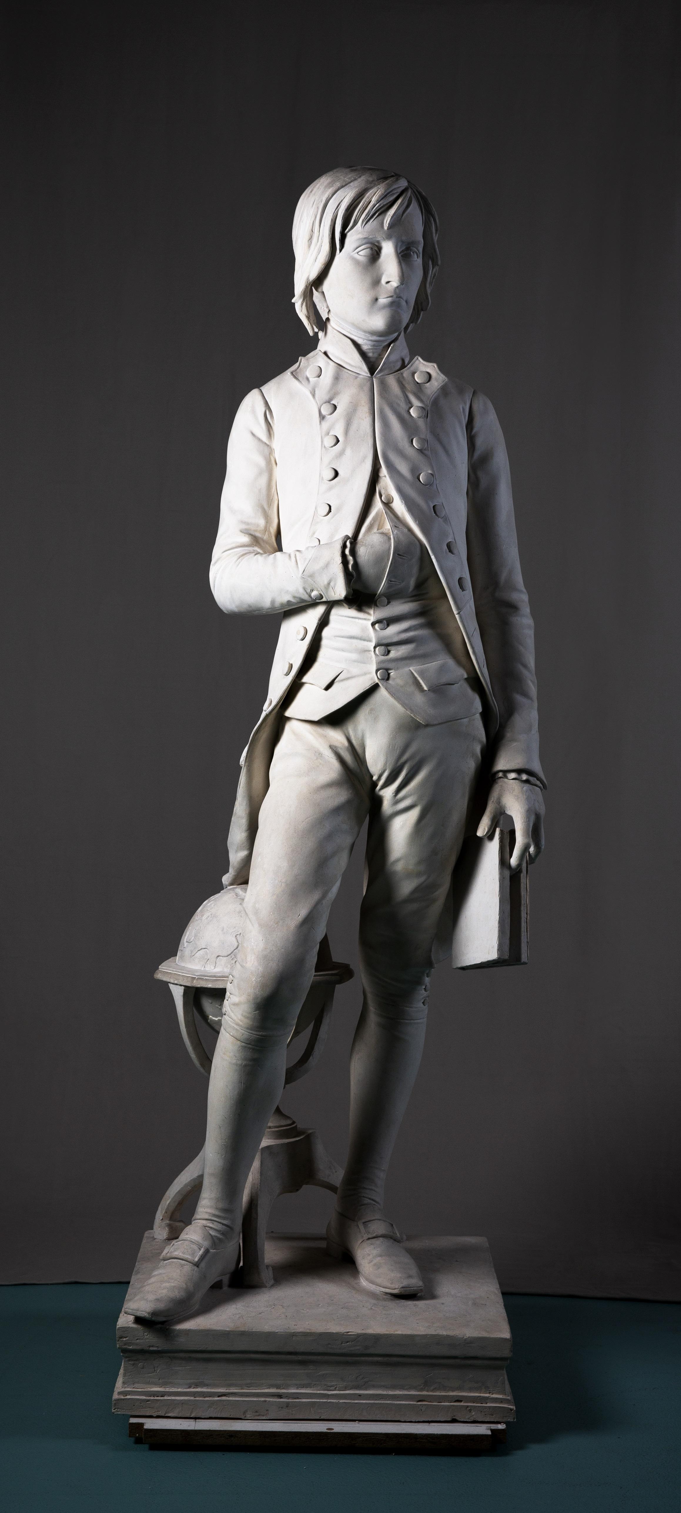 Yverdon-les-Bains_Musée_L. Rochet_Statua di Napoleone cadetto a Brienne-le-Chateau_foto-Musée d'Yverdon et Région