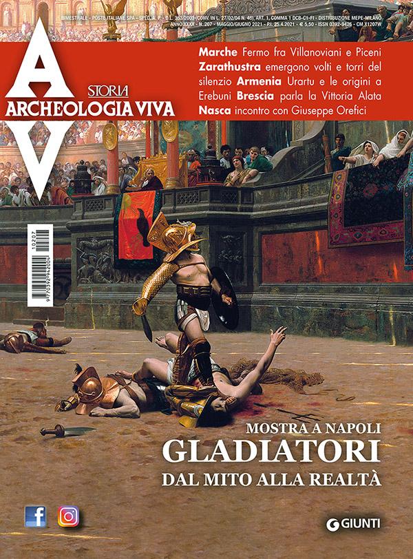 firenze_copertina archeologia viva_maggio-giugno-2021