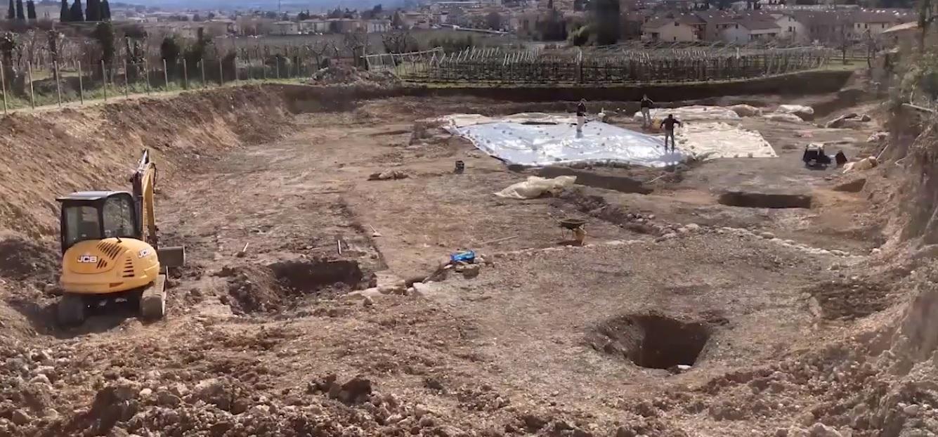 negrar_riscoperta-villa-romana-mosaici_area-di-scavo_foto-comune-di-negrar