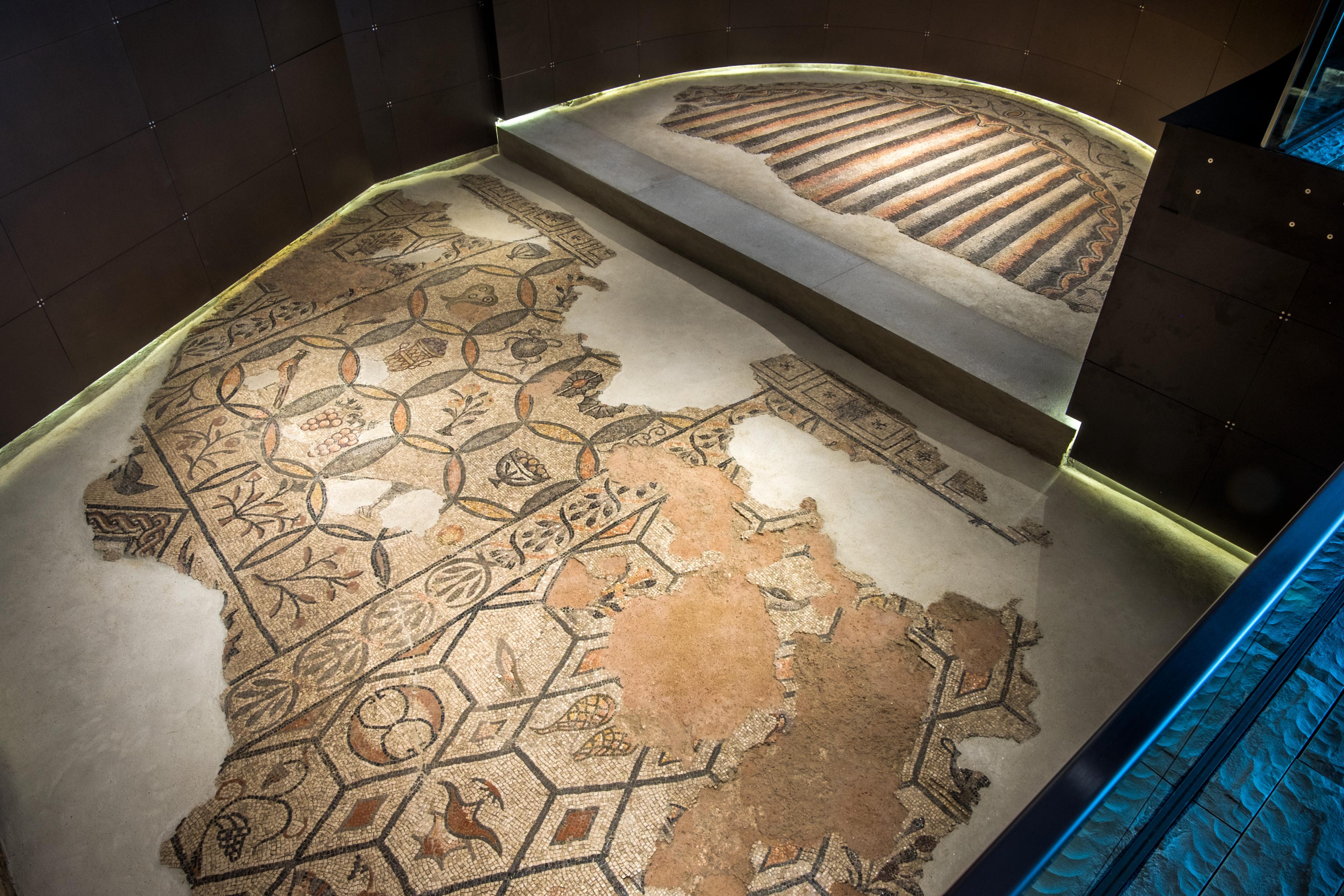 aquileia_domus-e-palazzo-episcopale_mosaico-aula-absidata_foto-g-baronchelli
