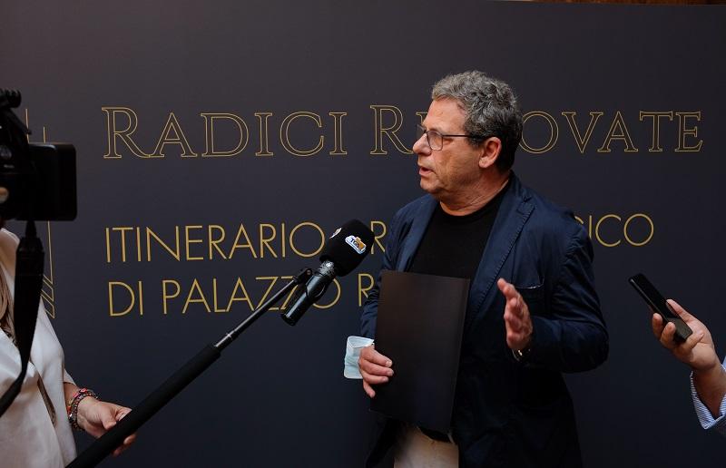palermo_Palazzo-Reale_Itinerario archeologico_presidente-micciche_foto-fondazione-federico-II
