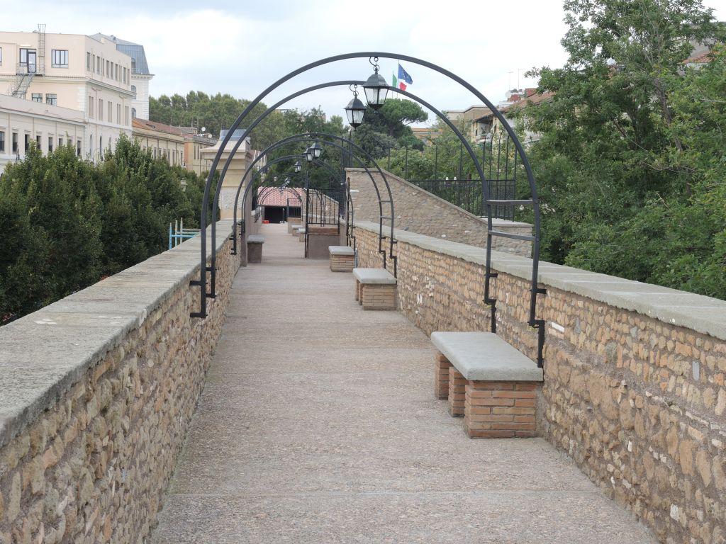 roma_Camminamento-viale-Pretoriano (2)_foto-roma-capitale