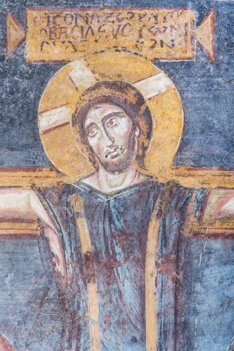 roma_foro-romano_santa-maria-antiqua_cappella-teodoto_crocifissione_foto-PArCo