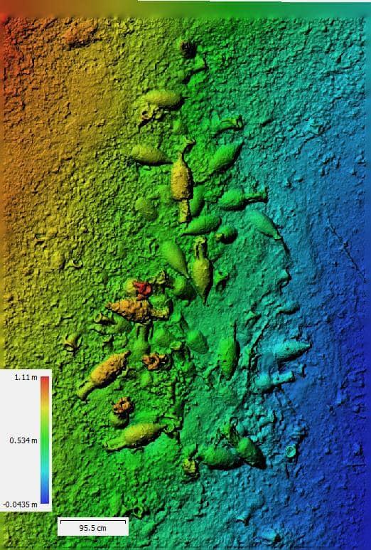 ustica_relitto-romano_scoperta-e-rilievi_rilievo-3D_foto-soprintendenza-del-mare