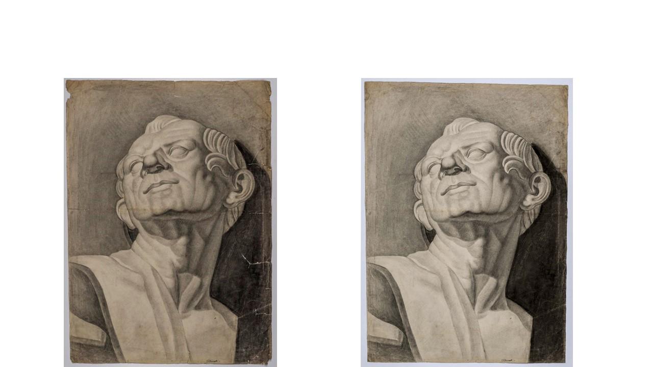 roma_villa-giulia_mostra-felice-bernabei_disegni-giovanili_prime-e-dopo-restauro_foto-etru